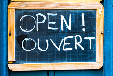 Heures d'ouverture durant le jour du Souvenir