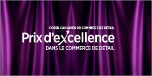 Gala du prix d'Excellence dans le commerce de détail