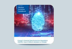 Webinaire Règlement Général européen sur la Protection des Données (RGPD) pour les détaillants: l'impact du RGPD sur vos activités de vente au détail