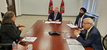 Le RCC et les détaillants rencontrent le premier ministre Ford pour discuter du rôle des détaillants pendant la crise du COVID-19
