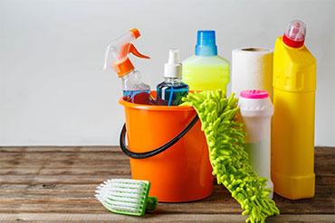 Étiquetage des désinfectants pour les mains, des savons et des produits de nettoyage