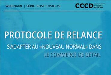 Protocole de relance; s'adapter au «nouveau normal» dans le commerce de détail