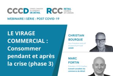 Le virage commercial : Consommer pendant et après la crise (phase 3)