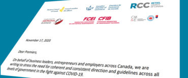 Le CCCD a envoyé une lettre conjointe aux premiers ministres soulignant la nécessité d'avoir une direction claire et cohérente dans la lutte contre le COVID-19