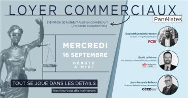 Loyers commerciaux : échange avec Me Legendre