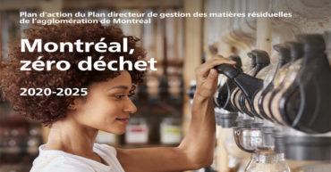 Zéro déchet | Publication du Plan d'action de Montréal 2020-2025